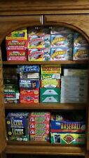 Lot Of Vintage NFL Football Trading Cards In Unopened  Factory Sealed Packs