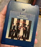 BLONDIE PARALLEL LINES 8 TRACK Tape Tested 1978
