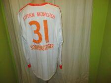 FC Bayern München Adidas Langarm Triple Trikot + Nr.31 Schweinsteiger Gr.XXL
