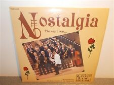 * George Rose Big Band . Nostalgia The Way It Was . Brantford Ontario . LP