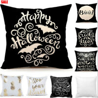 Something Wicked Chalkboard Halloween Throw Decorative Throw Pillow Cover Case