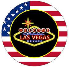 LAS VEGAS - USA - NOVELTY FRIDGE MAGNET - BRAND NEW - LITTLE GIFT