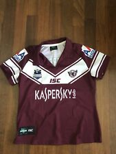 Women's Size 16 Manly Sea Eagles Jersey ISC Made In Australia