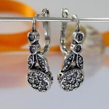 A093 Ohrringe Earrings 925 Silber Schmuck mit Swarovski Elements Kristallsteine
