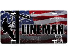 LIneman license plate