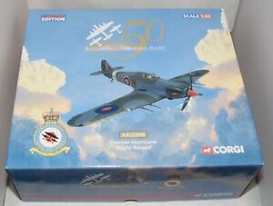 CORGI AVIATION ARCHIVE AA35508 HAWKER HURRICANE 'NIGHT REAPER' 1:32 SCALE LTD ED