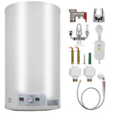 40L Electric Hot Water Heater Boiler Storage Tank LED Display Wall Mount Safe