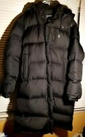 Polo Ralph Lauren Mens Hooded Down Long Black Puffer Winter Parka Coat XL