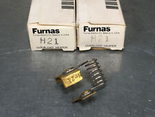 (Lot of 2) Furnas H21 Overload Heater Element