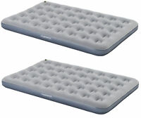 2 Pack Campingaz Double Air Bed Quickbed Camping Flocked AirBed Inflatable