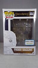 Funko Pop Movies 444 Lord of Rings Invisible Frodo Barnes Noble Exclusive Damage