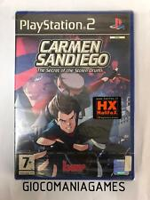 CARMEN SANDIEGO: THE SECRET OF THE STOLEN DRUMS PS2 NUOVO SIGILLATO