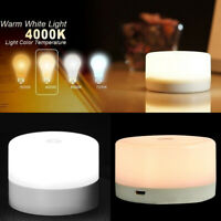 Rechargeable Touch Control Night Light Smart Dimmer USB Desk Lamp SALE