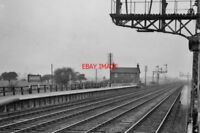PHOTO  BROOMFLEET RAILWAY STATION YORKSHIRE 1961 NER SELBY AND DONCASTER - HULL