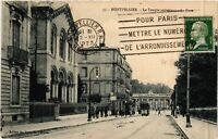 CPA  Montpellier - Le Temple protestant - La Gare   (511304)