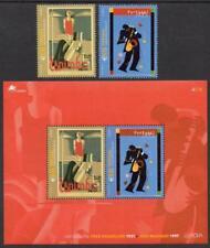Portogallo Gomma integra, non linguellato 2003 SG3003-05 EUROPA, Poster Art