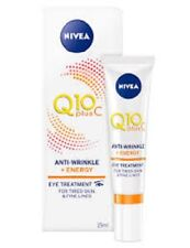 NIVEA Q10 plus C ANTI-WRINKLE ENERGY EYE CREAM 15ml for tired skin + fine lines