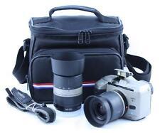 Minolta Vectis S-1 Film Camera + 28-56mm, 56-170mm Lens