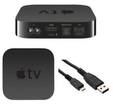BLACK 2M MICRO USB DATA CABLE FOR APPLE TV 2ND AND 3RD GEN FOR SERVICE & SUPPORT