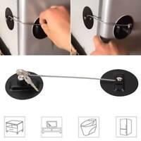 Baby Kid Child Safety Lock Proof Cabinet Drawer Fridge Cupboard Door Ace