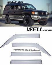 For 92-00 Mitsubishi Montero WellVisors Side Window Visors Rain Guard