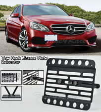 For 15-UP Benz E63 AMG Sedan W213 Front Bumper Tow Hook License Plate Bracket