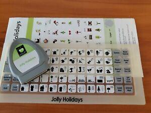 Cricut Cartridge Jolly Holidays  linked