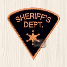 Smokey and the Bandit Replica Sheriff's Dept Patch Buford T Justice Embroidered