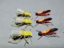 New! Assortment, Hoppers for 2020, Fat Albert #6/Red/Blk Morrish w/Red Legs #10