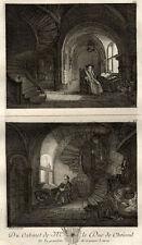 Les Philosophes d'après Rembrandt - Basan Gravure 18ème siècle
