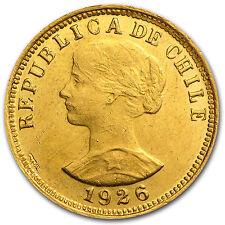 Chile Gold 50 Pesos AU/BU (Random) - SKU #50610