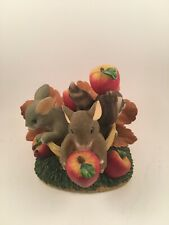 charming tails - friends are a bushel of fun figurine - item # 85/505