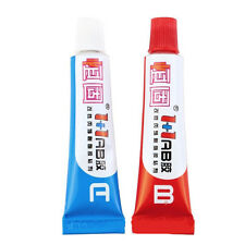 1set AB Epoxy Glue Clear Strong Adhesive Resin Plastic Glass Rubber Metal Weld