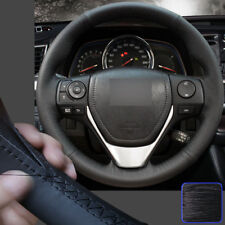 Specific Steering Wheel Cover Sewing on Wrap for Toyota 13 RAV-4 2014-18 Corolla