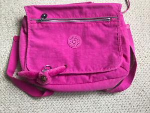 Kipling Girls/kids school bag, Rucksack Pink Nylon Light