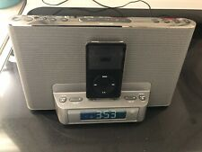 Sony 30 GB Ipod & Personal Speaker Dock Clock Radio for iPod & iPhone ICF-CS15iP