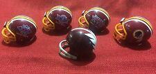 Riddell Pocket Pro football helmet lot of 5 Washington Redskins Super Bowl & tb
