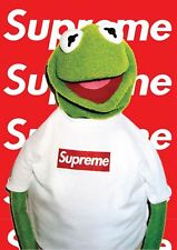 Kermit SUPREME  A3 Poster Print 260gsm