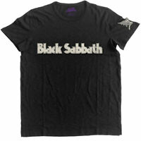 Official Black Sabbath T Shirt Logo Daemon Black Mens Classic Rock Metal Tee New