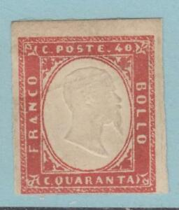 SARDINIA 13d MINT HINGED PARTIAL OG* CV $8250.00