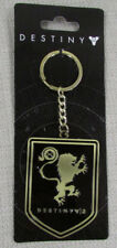 DESTINY 2 Officially Licensed Crest Titan Metal Keychain Black Gold NEW