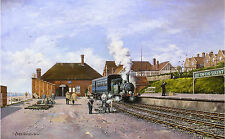"Railway print ""Lee-on-the-Solent"" station by Cris Woods"