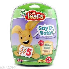 New - Leap Frog Little Leaps - Say it Baby Verbal and Vocal Discovery