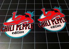 Chili Pepper Edition Decals Stickers Wrangler CJ YJ TJ JK Cherokee XJ wj Sahara