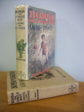 BOMBA Among The Pygmies by Rockwood, 1931 1st Ed in DJ