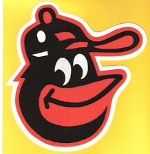 HUGE BALTIMORE ORIOLES IRON-ON PATCH - 8