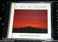 A Sky of Dreams Barry Stramp CD Neoprimitive flute Solos of The World SEALED