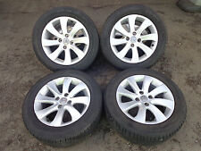 "CITROEN C4 GRAND PICASSO 2009 GENUINE 4x 16"" ALLOY WHEELS WITH TYRES 215/55R16"