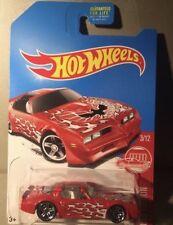 Hot Wheels 2017 Target Red Edition '77 Pontiac Firebird #3 exclusive
