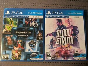 Sony PlayStation VR - Blood & Truth and Everybody's Golf VR Bundle